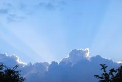 ηλιαχτίδες Στοκ φωτογραφίες με δικαίωμα ελεύθερης χρήσης