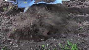 Η διαδικασία, λειτουργεί το έδαφος, ο καλλιεργητής τομέων απόθεμα βίντεο