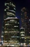 Η διεθνής Μόσχα-πόλη επιχειρησιακών κέντρων της Μόσχας Στοκ φωτογραφία με δικαίωμα ελεύθερης χρήσης