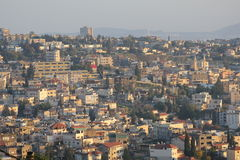 Η Ιερή Πόλη της Ναζαρέτ, Galilee, Ισραήλ, Άγιοι Τόποι Στοκ Εικόνα