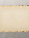 Ηλικίας έγγραφο περγαμηνής Στοκ Φωτογραφία