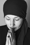 ηλικίας μέση προσευμένος Στοκ Φωτογραφίες