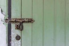 Ηλικίας μπουλόνι πορτών Στοκ φωτογραφία με δικαίωμα ελεύθερης χρήσης