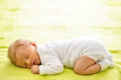 Ηλικίας νεογέννητο μωρό μιας εβδομάδας Στοκ Εικόνες