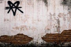 Ηλικίας υπόβαθρο τοίχων οδών Στοκ φωτογραφία με δικαίωμα ελεύθερης χρήσης