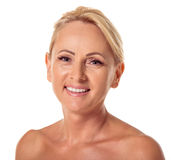 ηλικίας όμορφη μέση γυναίκα Στοκ φωτογραφίες με δικαίωμα ελεύθερης χρήσης