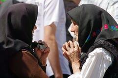 Ηλικιωμένες γυναίκες στοκ φωτογραφία με δικαίωμα ελεύθερης χρήσης