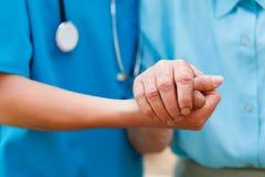 Ηλικιωμένη έννοια φροντίδας Στοκ Εικόνες