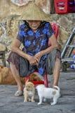 Ηλικιωμένη ασιατική γυναίκα Στοκ Φωτογραφίες
