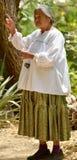 Ηλικιωμένη γυναίκα Ναβάχο στοκ φωτογραφίες με δικαίωμα ελεύθερης χρήσης