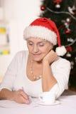 ηλικιωμένη ευτυχής γυναίκα Στοκ εικόνες με δικαίωμα ελεύθερης χρήσης