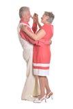 Ηλικιωμένος χορός ζευγών Στοκ Φωτογραφία