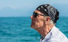 ηλικιωμένο πορτρέτο ατόμων Στοκ Εικόνες