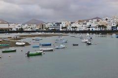 Η λιμνοθάλασσα Charco de SAN Gines Arrecife, Lanzarote Στοκ Εικόνες