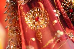 η ινδική Sari Στοκ φωτογραφία με δικαίωμα ελεύθερης χρήσης