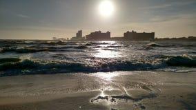 Ηλιοβασίλεμα λαμπυρίσματος Στοκ εικόνες με δικαίωμα ελεύθερης χρήσης