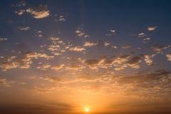 ηλιοβασίλεμα ανατολής &s Στοκ Φωτογραφία