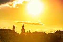 ηλιοβασίλεμα Βενετία Στοκ Φωτογραφία