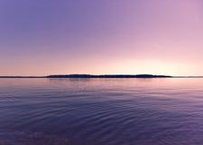 Ηλιοβασίλεμα βραδιού Στοκ Εικόνα