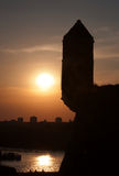 Ηλιοβασίλεμα επάνω από το πόλη-1 Στοκ φωτογραφίες με δικαίωμα ελεύθερης χρήσης