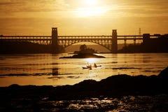 Γέφυρα Brittania Στοκ Εικόνες