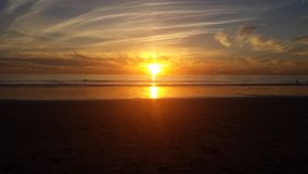 Ηλιοβασίλεμα Καλιφόρνιας Carlsbad Στοκ εικόνες με δικαίωμα ελεύθερης χρήσης