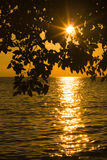 Ηλιοβασίλεμα στην παραλία στοκ φωτογραφία με δικαίωμα ελεύθερης χρήσης