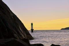 Ηλιοβασίλεμα 2 πάρκων απότομων βράχων Whyte Στοκ εικόνα με δικαίωμα ελεύθερης χρήσης