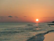 Ηλιοβασίλεμα πέρα από τον παράδεισο Στοκ φωτογραφία με δικαίωμα ελεύθερης χρήσης