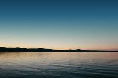 Ηλιοβασίλεμα πέρα από το υδραγωγείο Στοκ Φωτογραφίες
