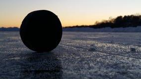 Ηλιοβασίλεμα πίσω από μια σφαίρα Στοκ Εικόνα