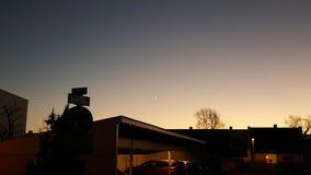 Ηλιοβασίλεμα πόλεων Στοκ Φωτογραφία