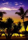 Ηλιοβασίλεμα σε μια παραλία, Στοκ φωτογραφίες με δικαίωμα ελεύθερης χρήσης