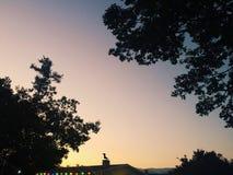 Ηλιοβασίλεμα σε ATKV Στοκ εικόνες με δικαίωμα ελεύθερης χρήσης