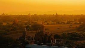 Ηλιοβασίλεμα σε Bagan φιλμ μικρού μήκους