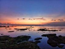 Ηλιοβασίλεμα σε Carita Στοκ φωτογραφίες με δικαίωμα ελεύθερης χρήσης