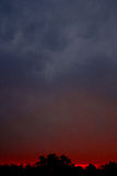 Ηλιοβασίλεμα σε Kanha στοκ φωτογραφίες με δικαίωμα ελεύθερης χρήσης