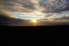 Ηλιοβασίλεμα σε Puna Πάου Στοκ εικόνες με δικαίωμα ελεύθερης χρήσης