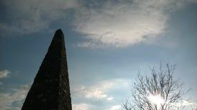 Ηλιοβασίλεμα σε Torrington από τον απότομο βράχο στοκ εικόνα με δικαίωμα ελεύθερης χρήσης