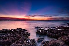 Ηλιοβασίλεμα σημείου του Lee Στοκ Φωτογραφία
