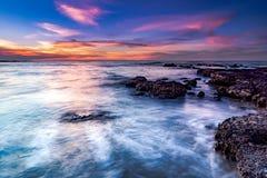 Ηλιοβασίλεμα σημείου του Lee Στοκ φωτογραφία με δικαίωμα ελεύθερης χρήσης
