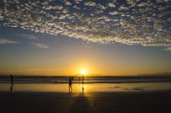 Ηλιοβασίλεμα σκελών στοκ φωτογραφία