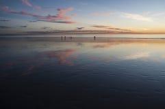 Ηλιοβασίλεμα σκουπών Στοκ φωτογραφίες με δικαίωμα ελεύθερης χρήσης