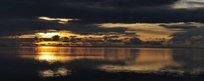 Ηλιοβασίλεμα στην Ανταρκτική Στοκ Φωτογραφίες