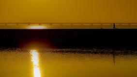 Ηλιοβασίλεμα στην Πορτογαλία Στοκ εικόνες με δικαίωμα ελεύθερης χρήσης