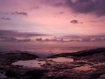 Ηλιοβασίλεμα στη Σρι Λάνκα Στοκ φωτογραφίες με δικαίωμα ελεύθερης χρήσης