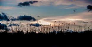 Ηλιοβασίλεμα στη Φλώριδα Στοκ Εικόνα