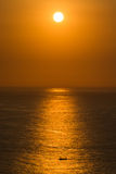 Ηλιοβασίλεμα στο ακρωτήριο Uluwatu, Μπαλί Στοκ φωτογραφίες με δικαίωμα ελεύθερης χρήσης