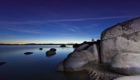Λιμενικό ηλιοβασίλεμα άμμου Στοκ φωτογραφία με δικαίωμα ελεύθερης χρήσης