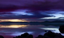Λιμενικό ηλιοβασίλεμα άμμου Στοκ εικόνα με δικαίωμα ελεύθερης χρήσης
